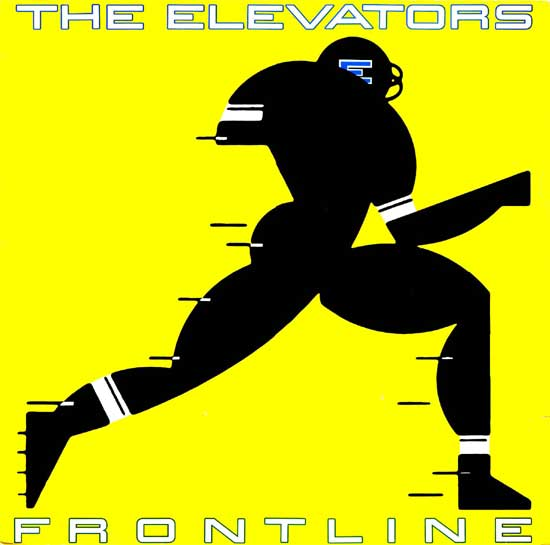 the elevators - frontline - 1980 - front